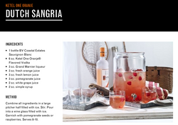 Dutch Sangria Cocktail