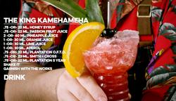 The King Kamehameha Cocktail