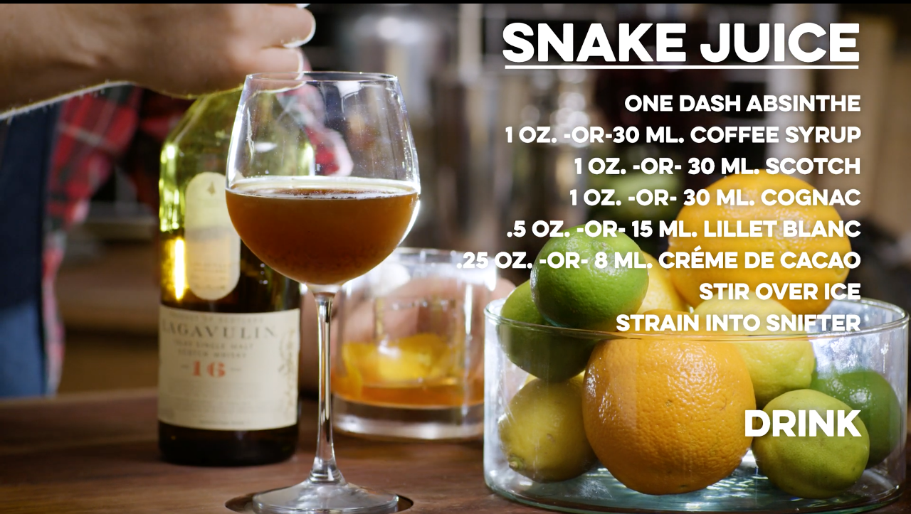 Snake Juice Cocktail