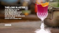 The Lobe Blaster Cocktail