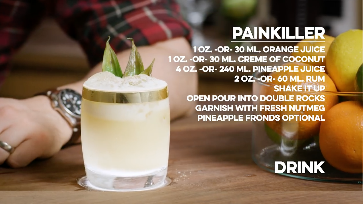 Painkiller Cocktail