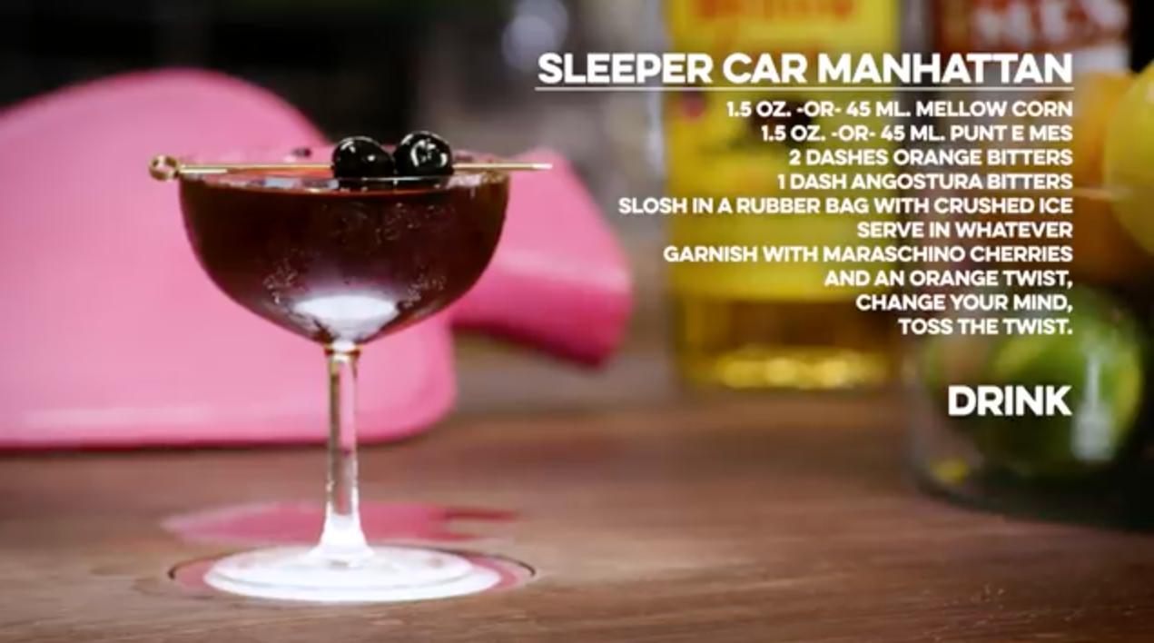 Sleeper Car Manhattan Cocktail