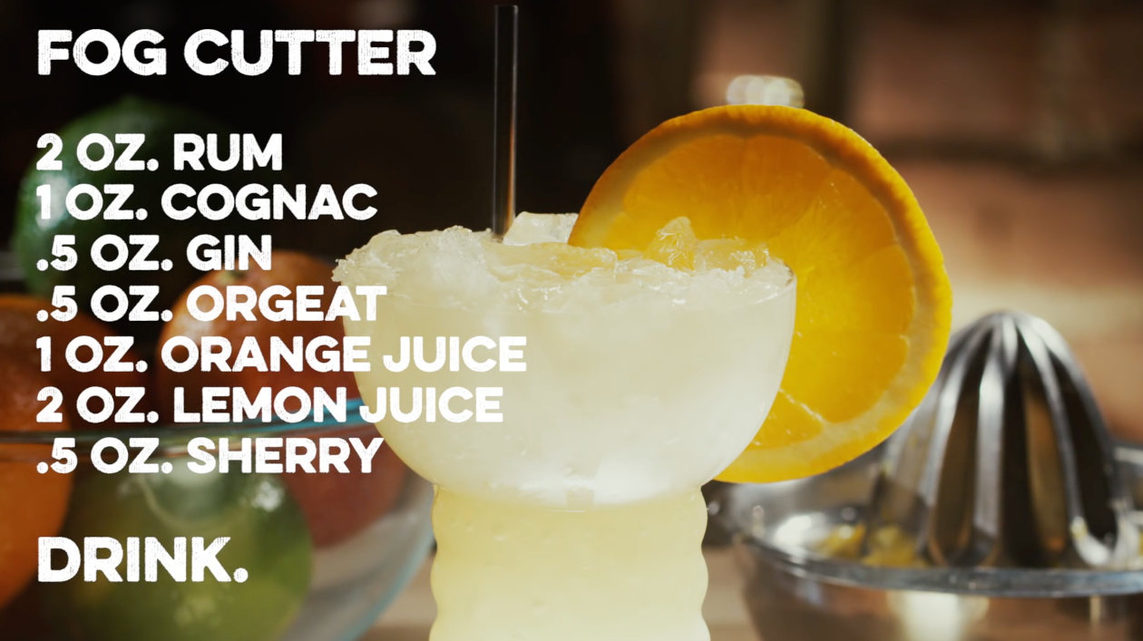 Fog Cutter Cocktail