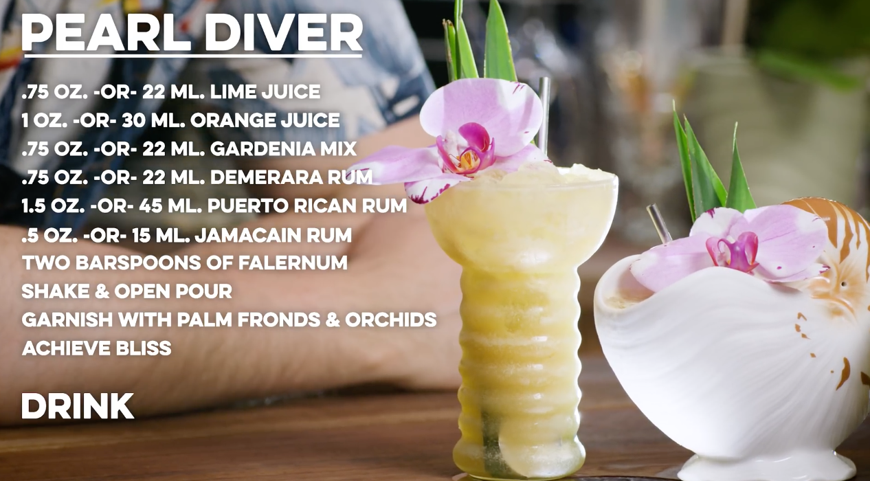 Pearl Diver Cocktail