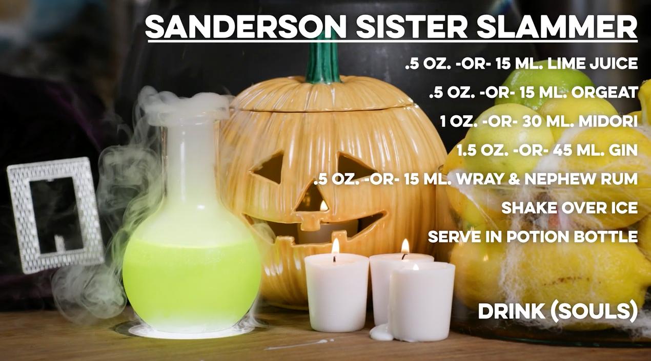 Sanderson Sister Slammer Cocktail
