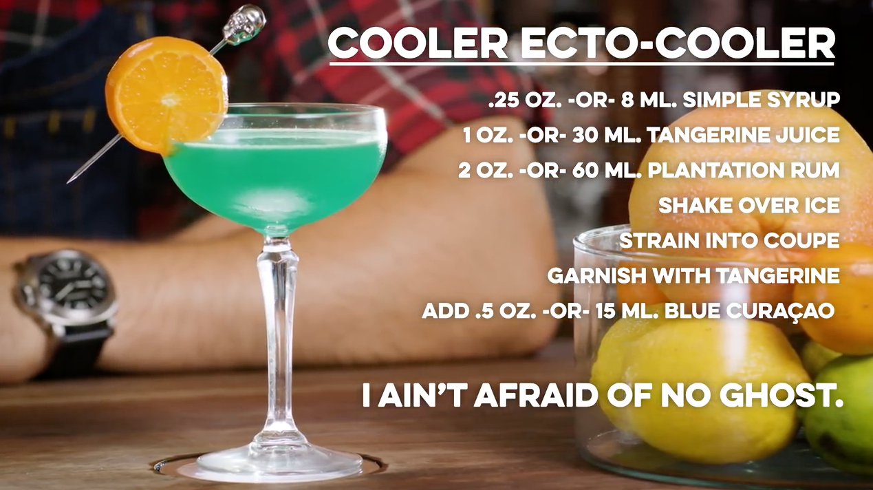 Cooler Ecto-Cooler Cocktail