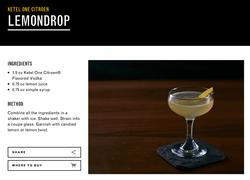 Lemondrop Cocktail