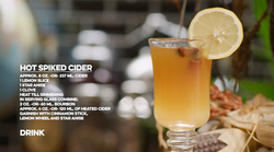 Hot Spiked Cider Cocktail Cocktail