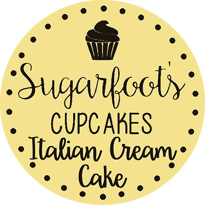 Italian Cream Cake Cupcake Jar