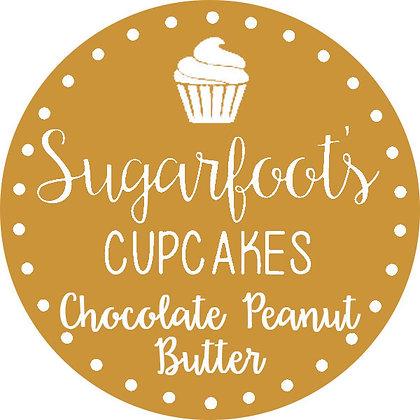 Chocolate Peanut Butter Cupcake Jar