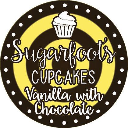 Vanilla with Chocolate Cupcake Jar