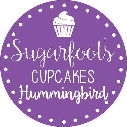Hummingbird Cupcake Jar