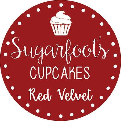 Red Velvet Cupcake Jar