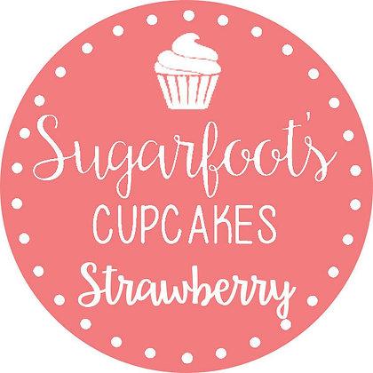 Strawberry Cupcake Jar