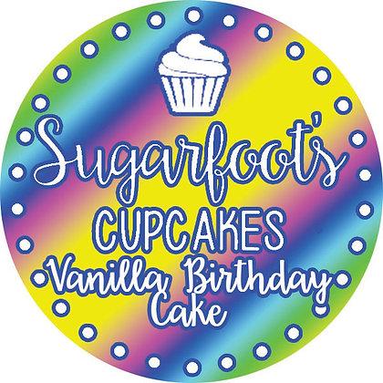 Vanilla Birthday Cake Cupcake Jar