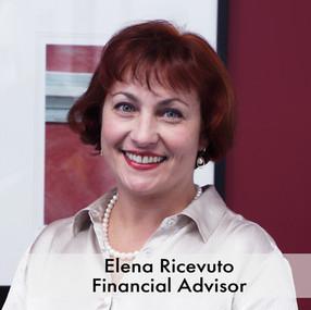 Elena Ricevuto, Financial Advisor