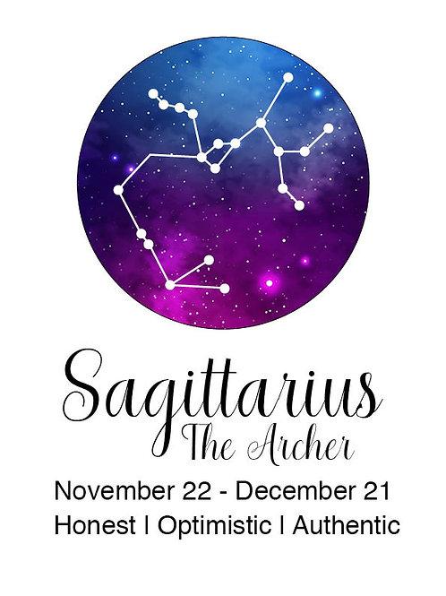 Sagittarius Astrology Poster