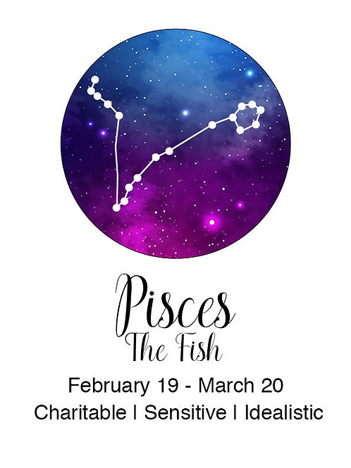 Pisces Astrology Poster