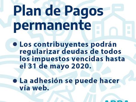 El plan permanente de ARBA permitirá regularizar deudas vencidas al 31 de mayo de 2020