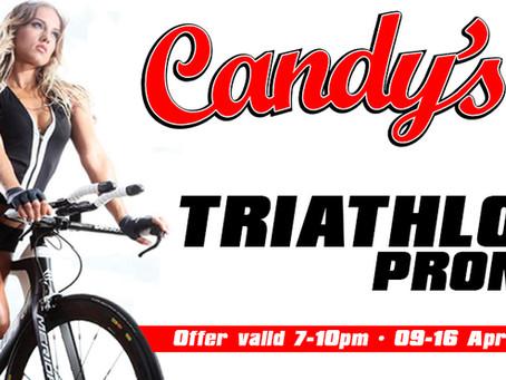 The Candy's Triathlon Promo