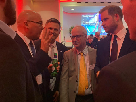 Meeting Prince Harry at Invictus Games Conference