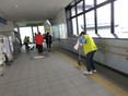 高月駅清掃