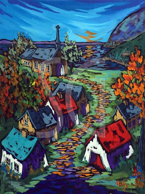 Un Village Oublié by Michel Boisvert