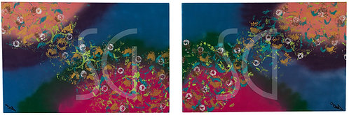 Underwater World (diptych)