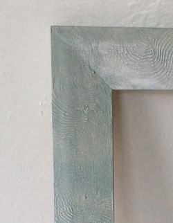 Decorative Plaster, Pearly Blue