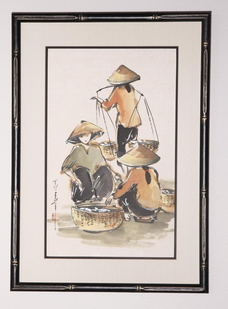 Black Bamboo Frame