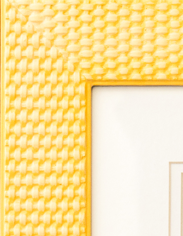 Yellow on Wicker