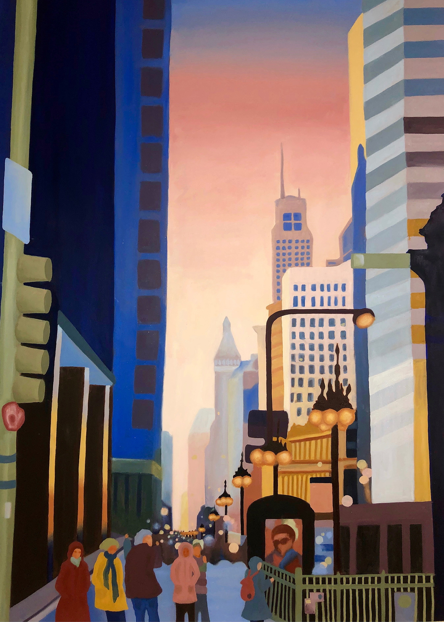 Michigan Avenue Chicago - Gajewski
