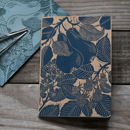 Pear & Blackberry Notebook