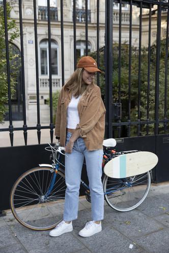 Accrocher sa Bloom au vélo