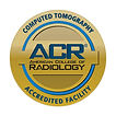 American College of Radiology Accredited Facility Badge for CT