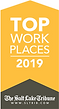 Top Work Places 2019 Award from the Salt Lake Tribune