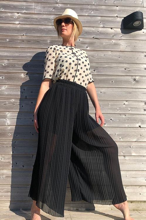 Pantalon plissé SENES