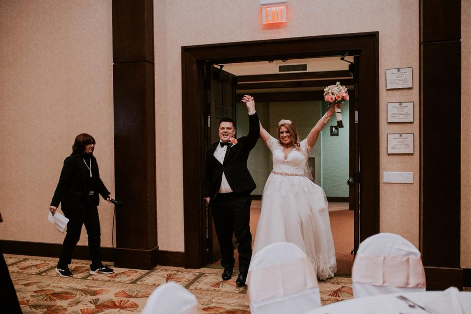 Grand Entrance - The Stankiewicz Wedding