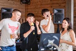 Karaoke Fun Savannah and Spenser - Kelli Gutherie Photography