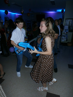 Teen party DJ