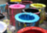 dog splash pad paint info