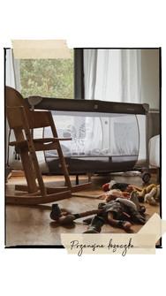 łóżeczko dla dzieci- Cisowy Zakątek