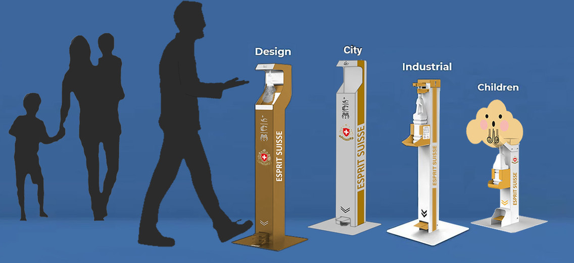 Desinfeccion Stand Branding