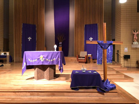 1º Dimanche de Carême Année Liturgique B