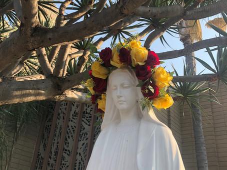 Marie dans la rue