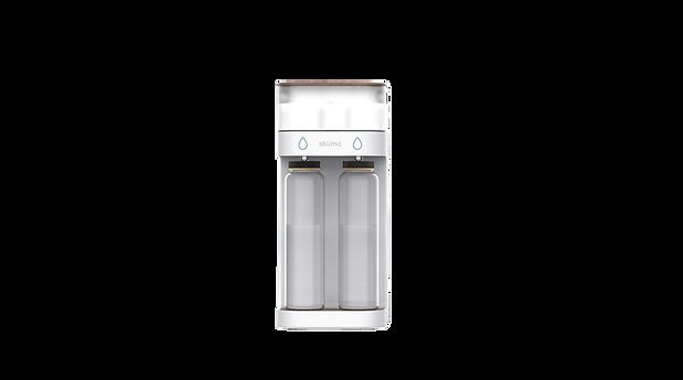 Skuma device two botles cap - Transparen