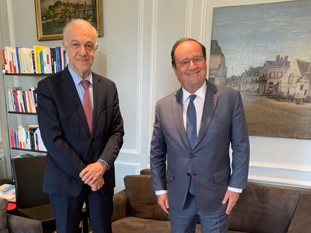 Rencontre avec François Hollande