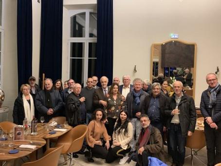 Dîner-débat à Villemur sur Tarn le 15 novembre 2019.