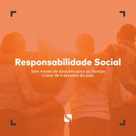 ASSERTIF COMPLETA UM SEMESTRE DE DOAÇÕES PARA SANTAS CASAS