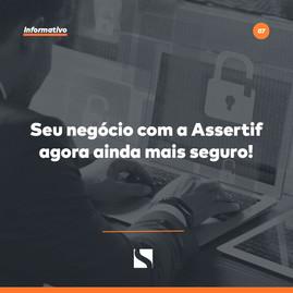 SEU NEGÓCIO COM A ASSERTIF AINDA MAIS SEGURO